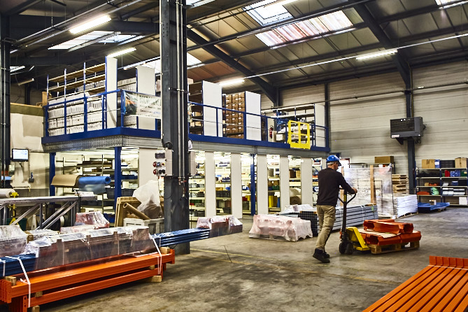 Entrepôt de stockage BR Equipement