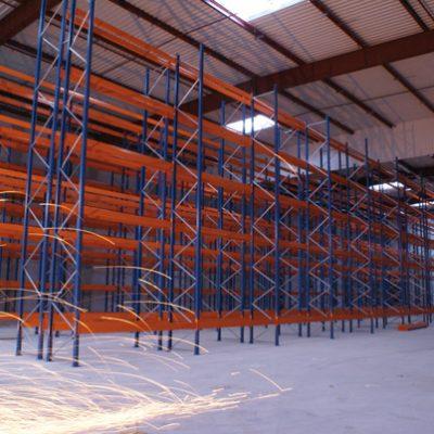 Rayonnage pour stockage rack à palettes lourd MRK
