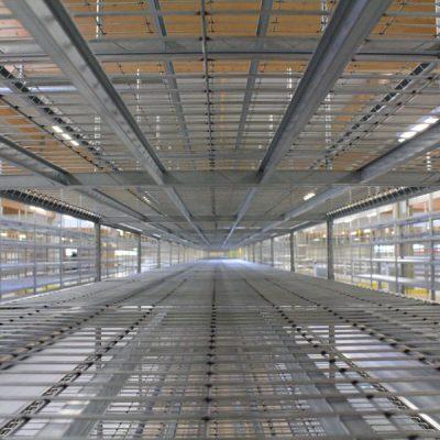 STOCKAGE LEGER ARCHIVE : Rayonnage tubulaire métallique en kit RAP pour archivage
