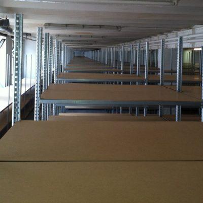 STOCKAGE LEGER ARCHIVE : Rayonnage tubulaire en kit RAP pour archivage
