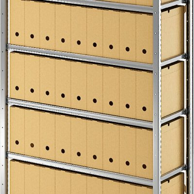 STOCKAGE Léger : Rayonnage métallique Tôlé galvanisé