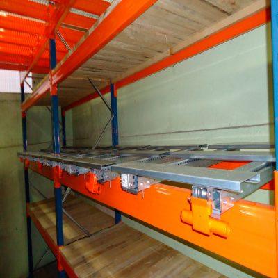 STOCKAGE Mi lourd / Lourd : Rack à Palettes : tiroirs