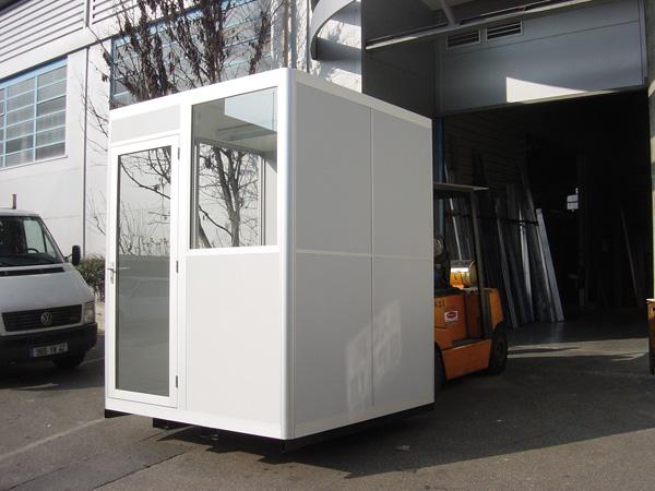 cabine bureau br equipement groupe bewop. Black Bedroom Furniture Sets. Home Design Ideas