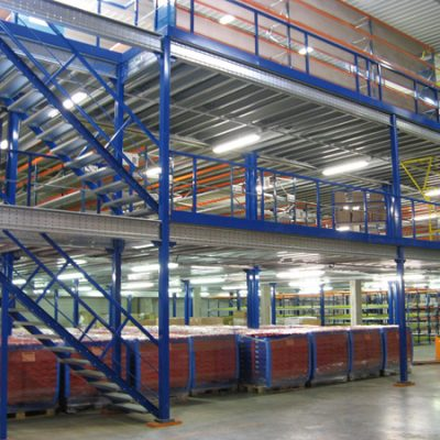 Plateforme de stockage industriel