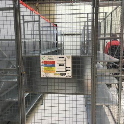 Cloison grillagée pour ateliers et entrepôts : BR Équipement