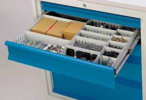 rangement tiroirs établis
