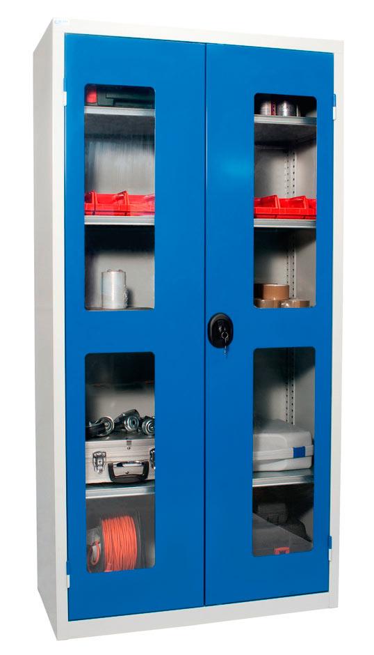 armoire d atelier mtallique awesome meuble industriel sur. Black Bedroom Furniture Sets. Home Design Ideas