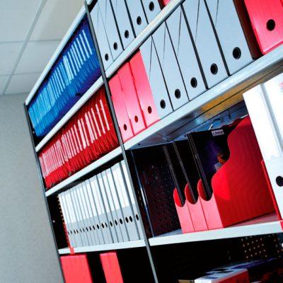 STOCKAGE Léger : Rayonnage métallique à tablettes COMBIMAG
