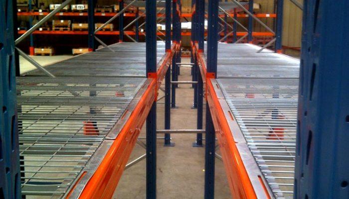 Rayonnage industriel Lourd MRK : BR Equipement