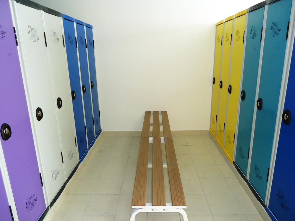 Stockage manutention plateforme cloison br equipement for Vestiaires industriels