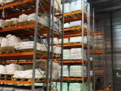 rack à palettes industriel