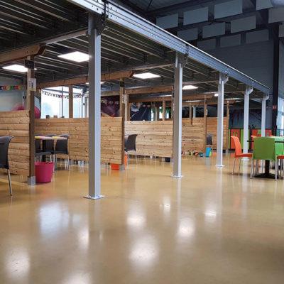 Plateforme ERP pour salle de jeux pour enfants