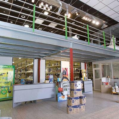 Plateforme ERP pour showroom de magasin
