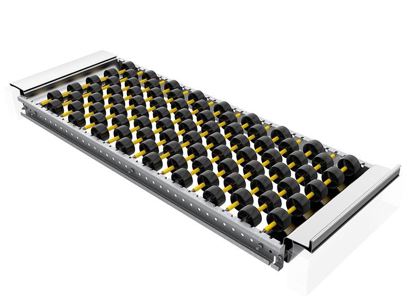 Rayonnage dynamique cartons : plateau VERSI-FLOW