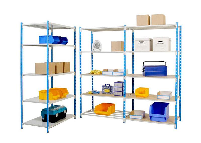Rayonnage Tubulaire stockage cartons
